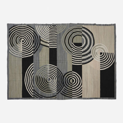 Contemporary, 'French Accents flatweave rug', 21st century
