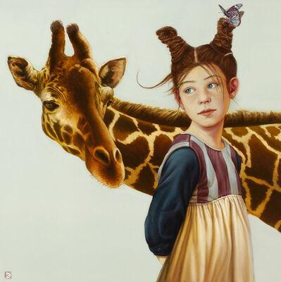 Claudia Giraudo, 'Bimba con giraffa', 2018