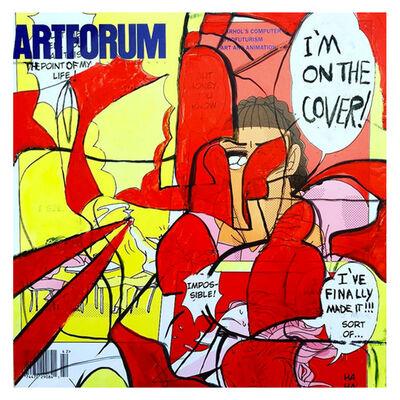 David Lloyd, 'Altered Artforum #3', 2016