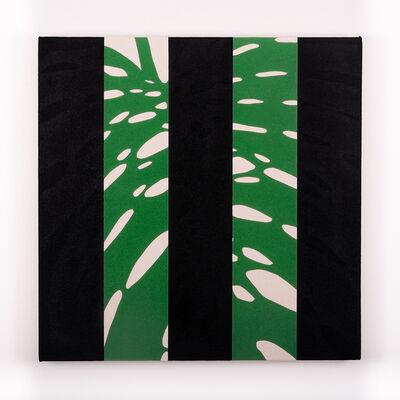 Otto Berchem, 'Monstera Deliciosa (Black)', 2016