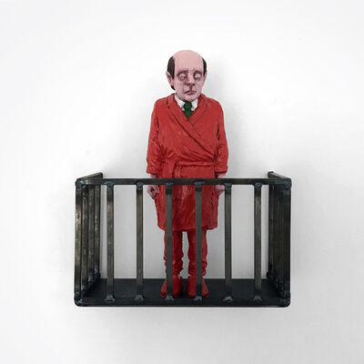 Isaac Cordal, 'Isolated', 2020
