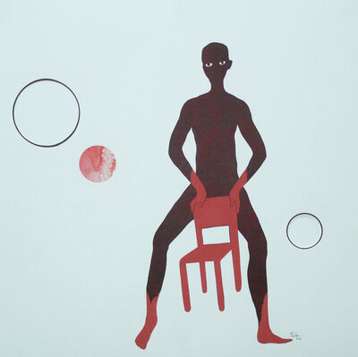 David Thuku, 'Untitled VIII(Red Room)', 2021