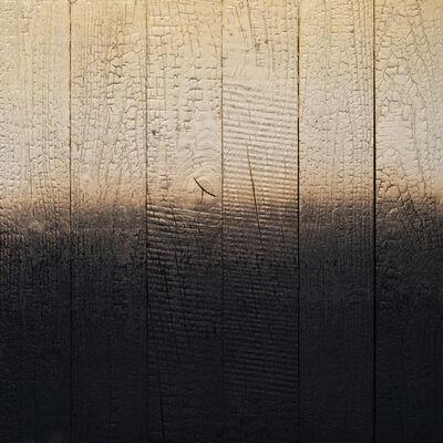 Miya Ando, 'Alchemy (Shou Sugi Ban) Pale Gold 3.19.2.2.1', 2019
