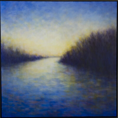 Victoria Veedell, 'Quiet Light (Last Light at the Slough)', 2019