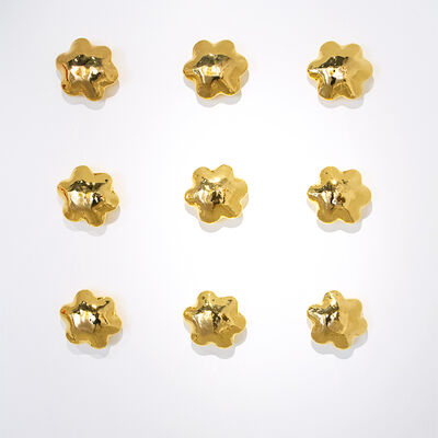 Stacy Phillips, 'Wall Flowers - Yellow Gold Cluster'