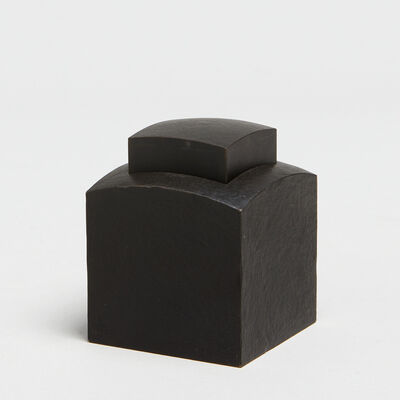 Andreas Caderas, 'Cube with sinkable inside part', 2015