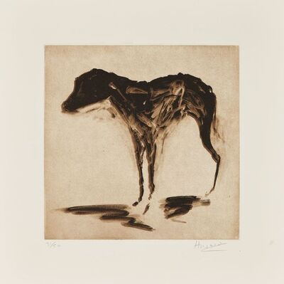 Rachel Howard, 'Black Dog', 2015