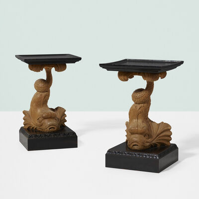T.H. Robsjohn-Gibbings, 'Occasional tables, pair', 1937