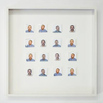Tom Kiefer, 'Portrait #5, Male, Essential Worker, Multiple Views ', 2017
