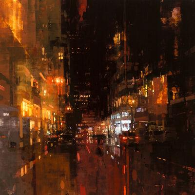 Jeremy Mann, 'SF Night in Red'