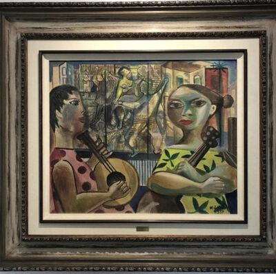 Emiliano Di Cavalcanti, 'Mulheres com viola', 1955