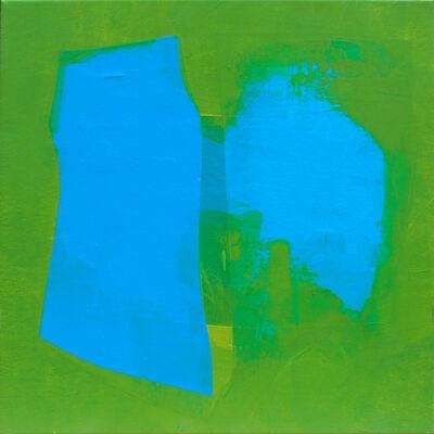Carolina Convers, 'Blue outline', 2500