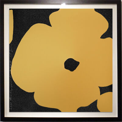 Donald Sultan, 'Gold Flowers', 2011