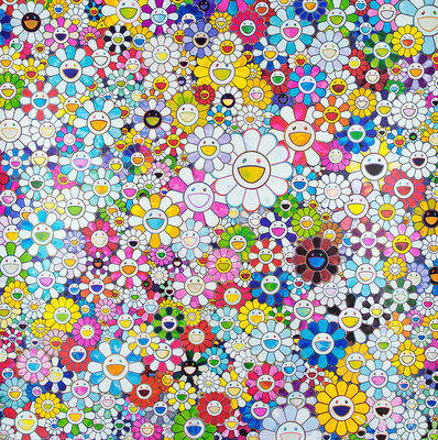 Takashi Murakami, 'When I Close My Eyes, I See Shangri-La', 2012