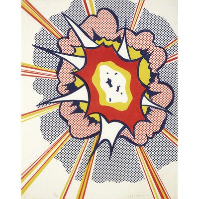 Roy Lichtenstein, 'Explosion from Portfolio 9', 1967