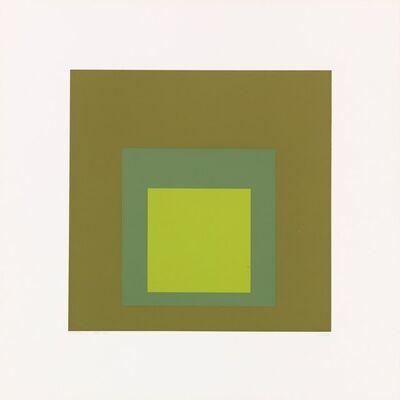 Josef Albers, 'Tuscany', 1966