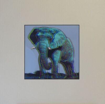 Andy Warhol, 'African Elephant', 1987