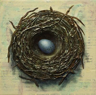 Thane Gorek, 'Nest with One Egg', 2019