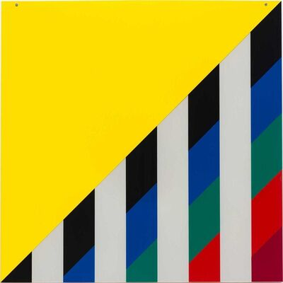 Daniel Buren, 'On Transparency: Situated Mylars III', 2017-2019