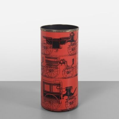 Piero Fornasetti, 'A 'carrozze' ('carriages') umbrella holder', 1960's