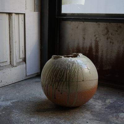 Shiro Tsujimura, 'Round Jar -iga style- st00800', 1980-2010