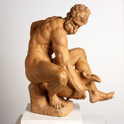 Giambologna, 'River God (The Euphrates; The Virile Age)', 1575