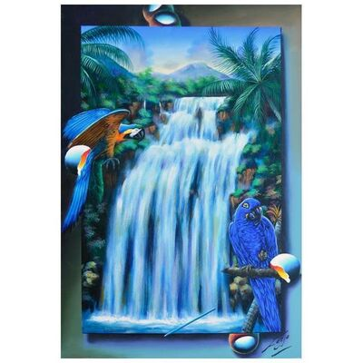 Ferjo, 'Brazilian Waterfall', 1990-2020