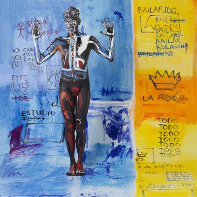 Nicole Furman, 'Hommage to Basquiat', 2015