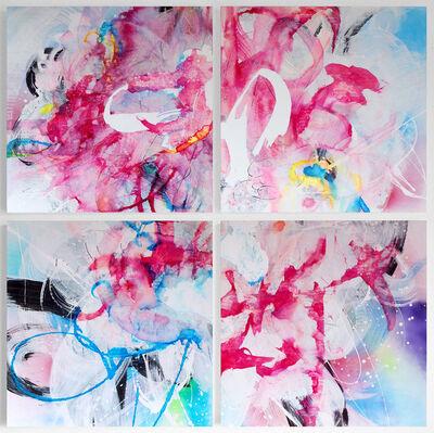 Kumiko Suzuki, 'Irridescent Clouds', 2018
