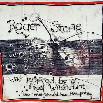 Tiny Pricks Project, 'I Spy Stoned Cold Roger Rolling Stone by Diana Weymar', 2020