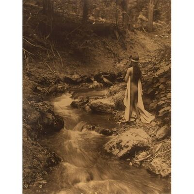 Edward Sheriff Curtis, 'The Maid of Dreams', 1909
