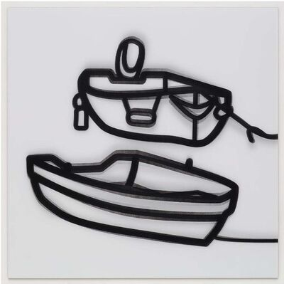 Julian Opie, 'Nature 2 Boats 2', 2015