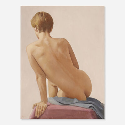 Ron Schwerin, 'Study for Nude Back: D.L.', 2001
