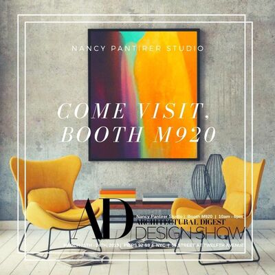 81 Leonard Gallery at Architectural Digest Design Show 2019, installation view