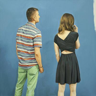 Pablo Guzman, 'Pintura Azul', 2018