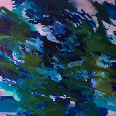 Rebecca Meanley, 'Untitled (phalo-iragazine-turquoise)', 2017