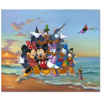 Jim Warren, 'Mickey and the Gang's Grand Entrance', 1990-2020