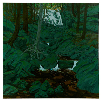 Neil G. Welliver, 'Grey Rocks', 1972