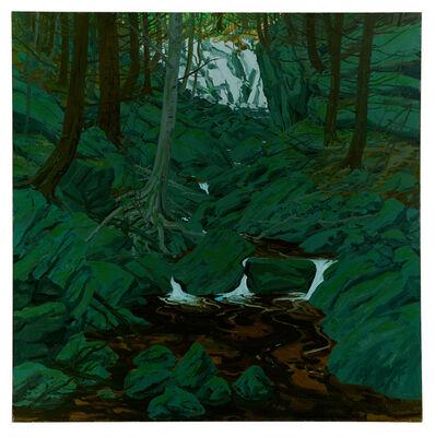 Neil G. Welliver, 'Grey Rocks', 1972