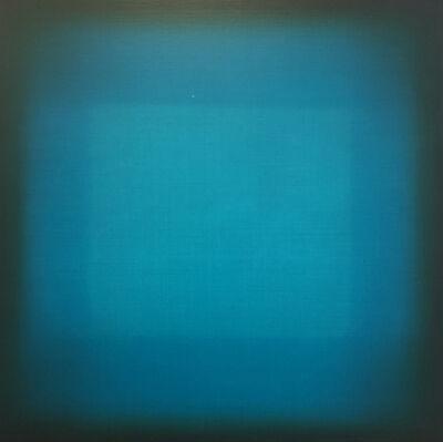 Eric Freeman, 'Turquoise Crossing Turquoise', 2018