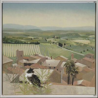Tom Mabon, 'Landscape below San Gimignano', 2020