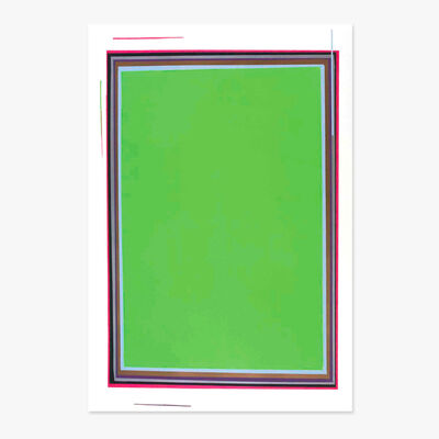 Anselm Reyle, 'Untitled (Green)', 2005