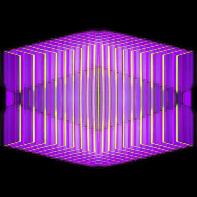 J. Margulis, 'Embrace purple', 2018