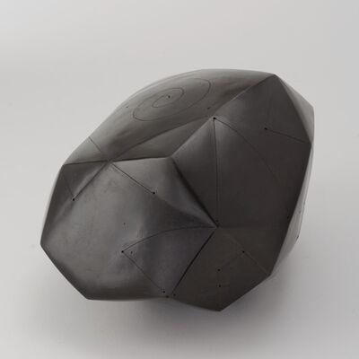Nadia Pasquer, 'Polyèdre noir', 2014