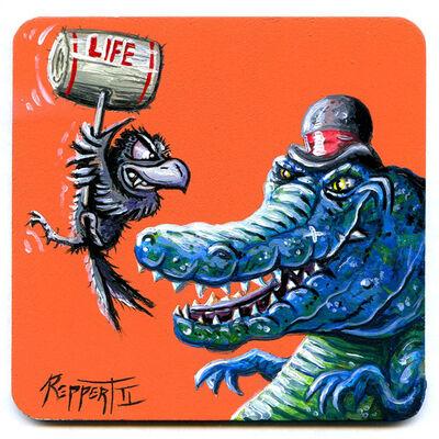 Kent Reppert II, 'Life Hits Hard', 2018