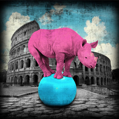 Lars Tunebo, 'The Colossal Rhino', 2020