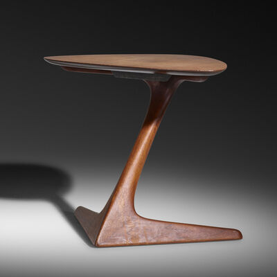 Vladimir Kagan, 'Cantilevered occasional table, model 578', c. 1955