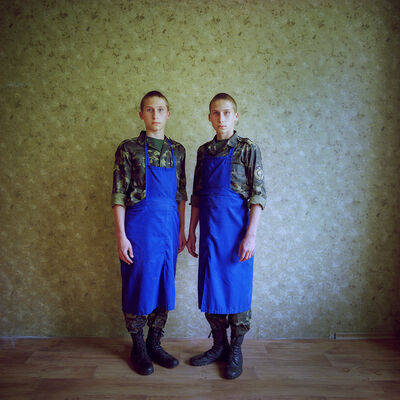 Michal Chelbin, 'Kyril and Losha, Ukraine', 2017