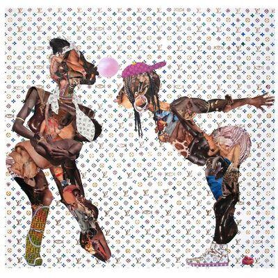 Penda Diakité, 'Love Eye (Omnipresence)', 2019