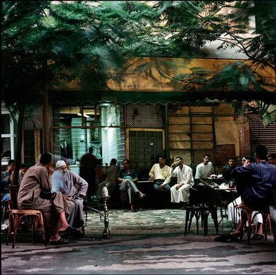 Denis Dailleux, 'Café à Bab Zumeilla au petit matin', 2000